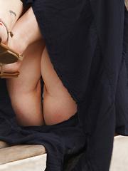 Sera Rossini plump natural boobs red head