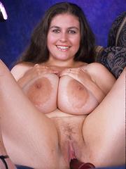 Colossal mega tit slut has the hugest knockers on the planet!